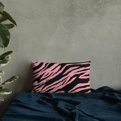 Pink Tiger Premium Pillow