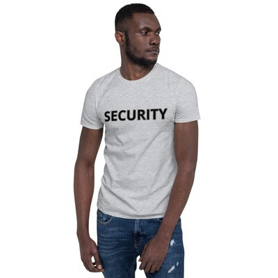 Tribe Brand SECURITY Short-Sleeve Unisex T-Shirt, Front