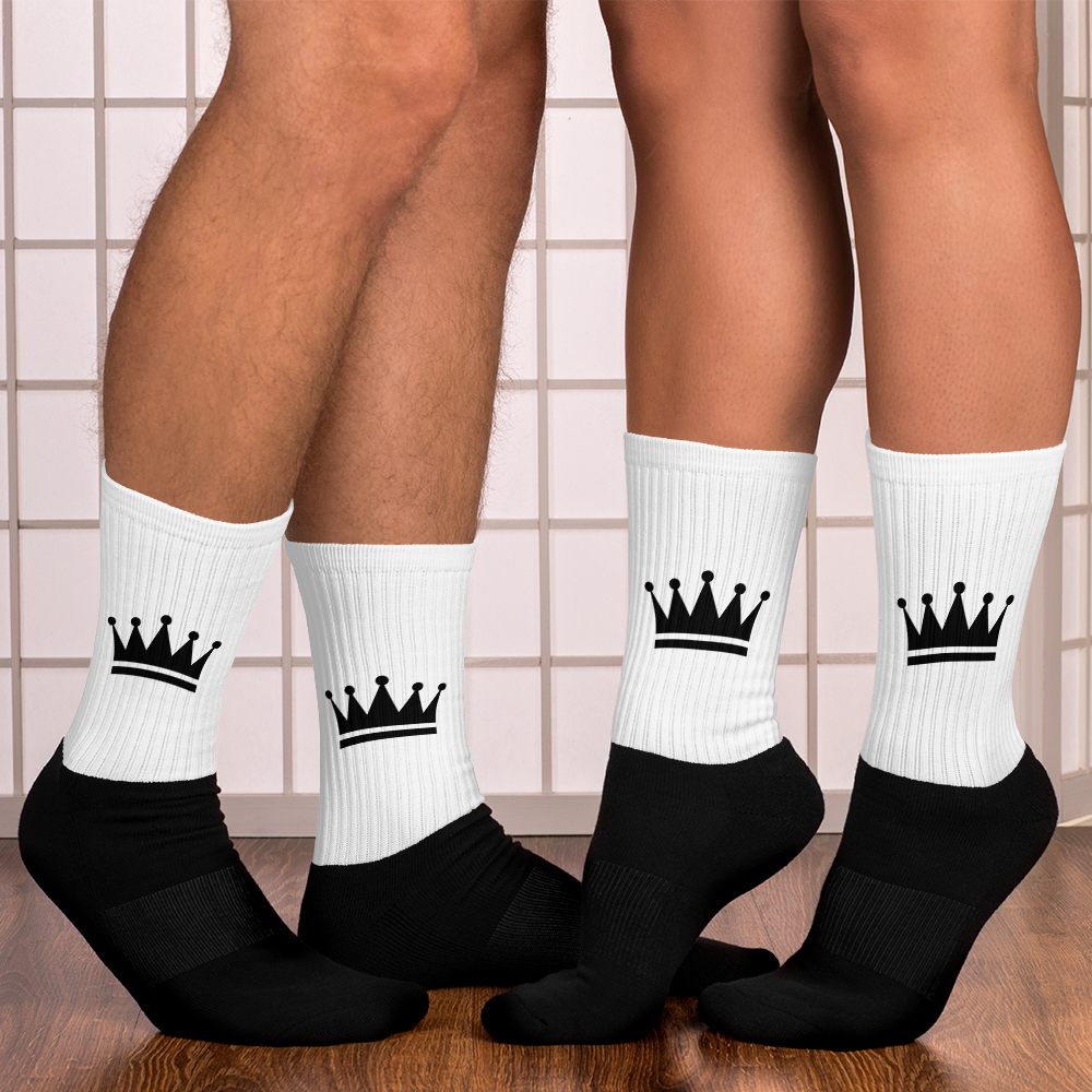 Tribe Brand Unisex Crown Socks