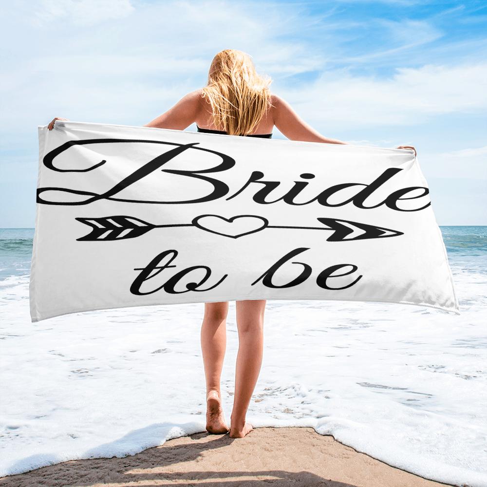 Tribe Brand Bride To Be Beach Towel