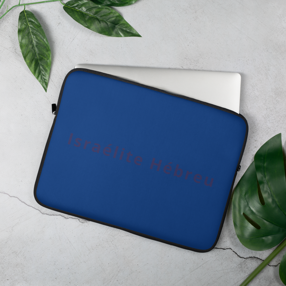 Embroidered Tribe Brand French Laptop Sleeve