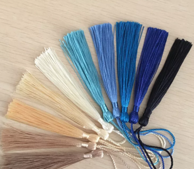 Tribe Brand Presents - Set of 4 Blue Tassels