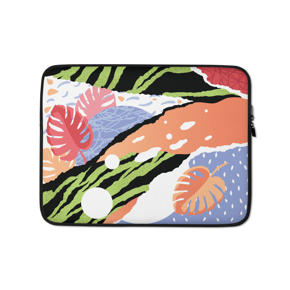 Green Tiger Laptop Sleeve