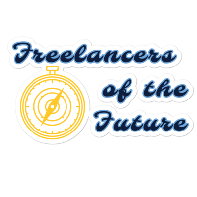 Freelancers of the Future Bubble-free stickers