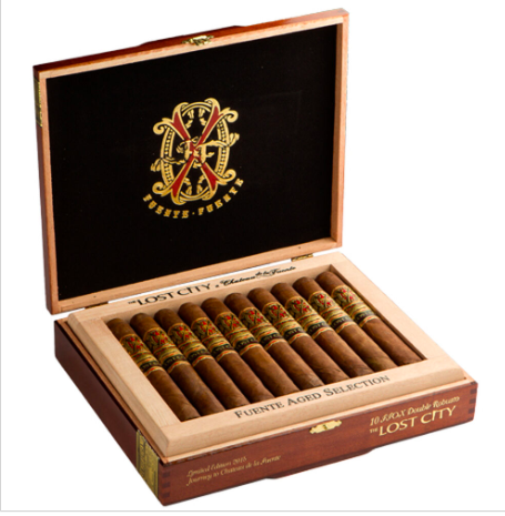 Lost City Opus X Double Robusto (Box of 10 Cigars)