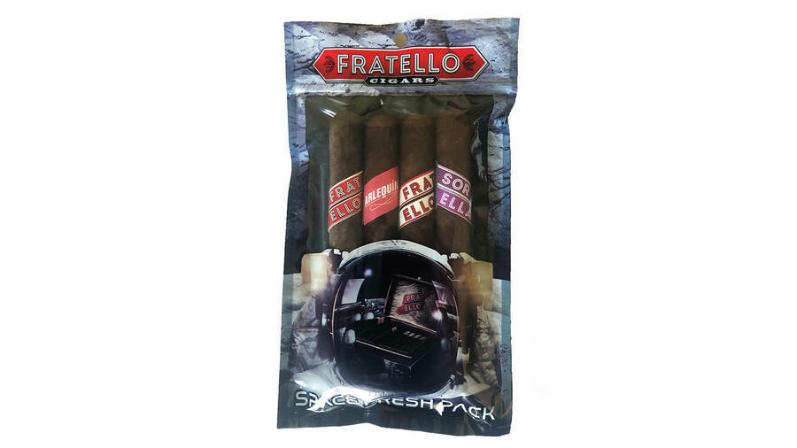 Fratello Space Pack (two seperate 4 Packs - 8 cigars total)