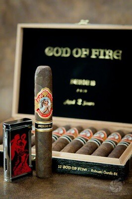 GOD OF FIRE SERIE B 2017 DOUBLE ROBUSTO (5.75x52) BOX OF 10