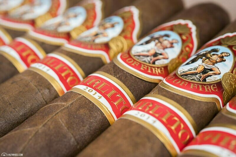 GOD OF FIRE CARLITO DOUBLE ROBUSTO (5x54) BOX OF 10