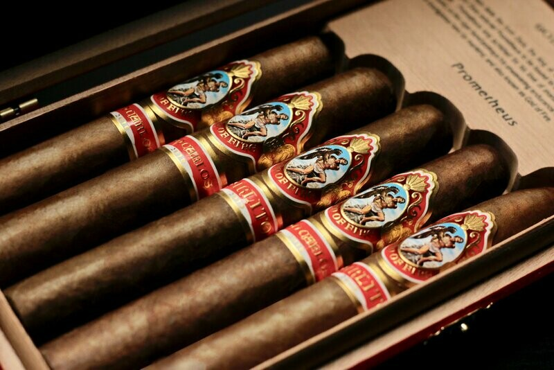 GOD OF FIRE DON CARLOS (ROBUSTO 5.2x50) BOX OF 10