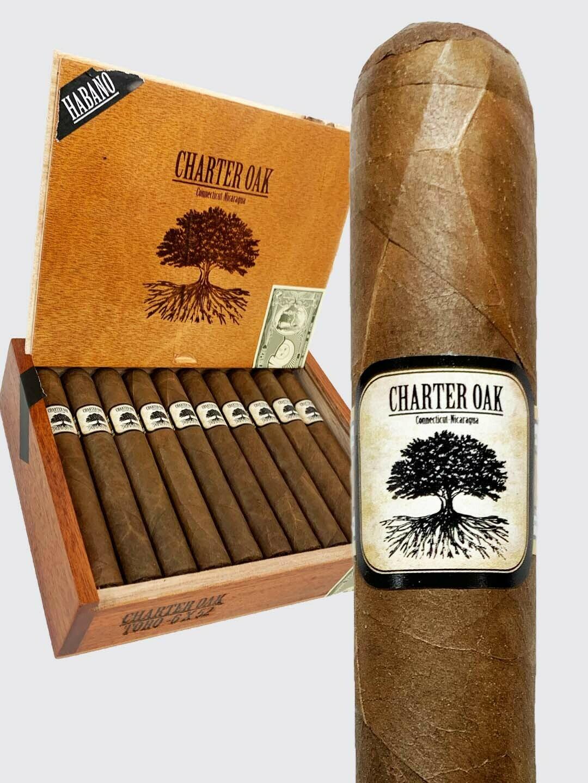 Foundation Cigars - Charter Oak Habano - Rothschilde (5x50)