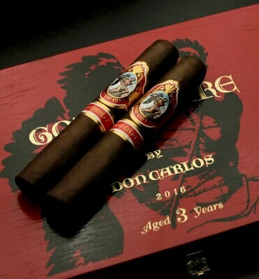 GOD OF FIRE DON CARLOS ROBUSTO GORDO (5.5x54) BOX OF 10