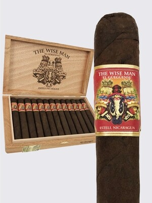 Foundation Cigars - Wiseman Maduro - Corona Gorda (5.6x46) Box of 25