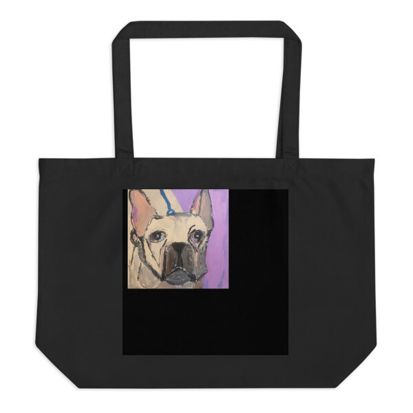 Large organic tote bag by Eric Ginsburg