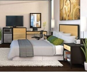 2016 Aus80-299/ Piecetralian Hotel Style Bedroom Furniture Sets for Sale