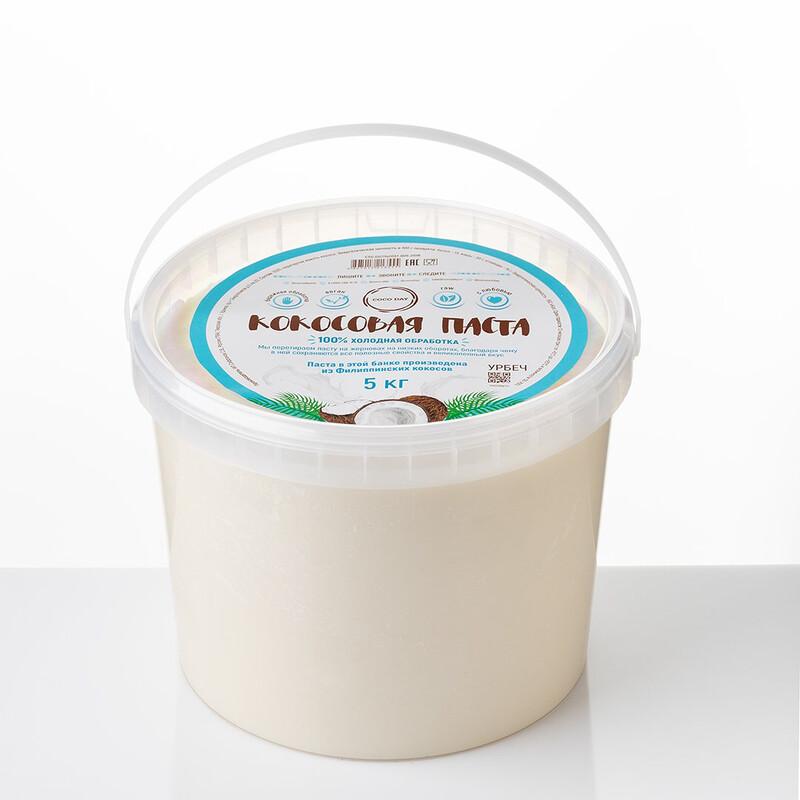 Паста кокосовая NO SUGAR natural sweet  5 кг. COCO DAY