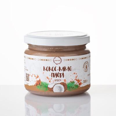 Паста кокосовая 100% натуральная бережной обработки 300 гр COCO DAY