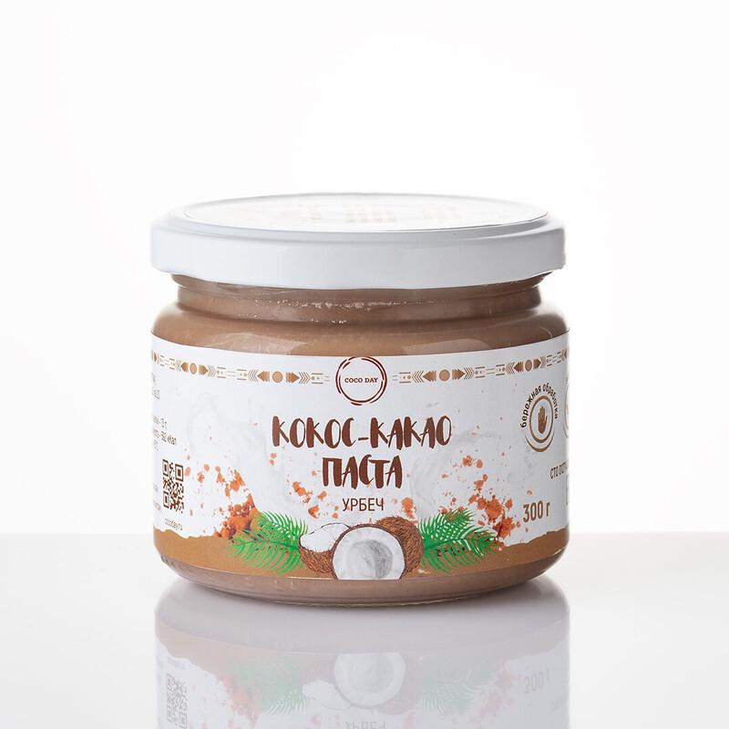 Паста кокосовая CHOCOLATE natural sweet 300 gr COCO DAY