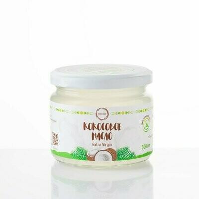 Масло кокосовое 100% натуральное бережной обработки 300 мл COCO DAY