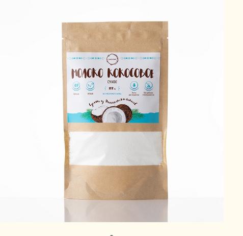 Молоко кокосовое  сухое NO LACTOSE clean breakfast 100 gr  COCO DAY