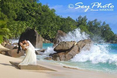 PRASLIN/ LA DIGUE Fotoshooting/ Hochzeits-Shooting