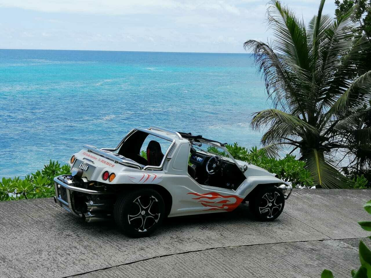 MAHE: Private Erlebnistour mit Guide - ganzer Tag , Francois Island Tours im Cabio - Buggy, PREIS für 2 Personen: 190€, Anzahlung: