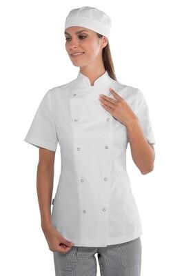 Giacca Lady Chef Bottoni a Pressione