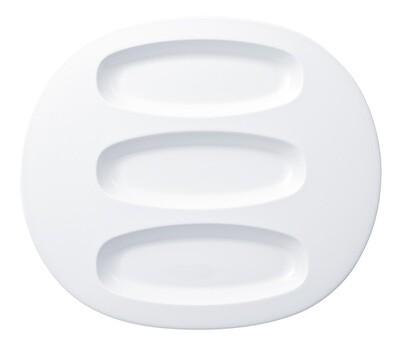 Villeroy & Boch, Affinity - piatto ovale a 3 spartiti 35 cm