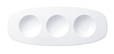 Villeroy & Boch, Affinity - Piatto ovale a 3 spartiti 30 cm
