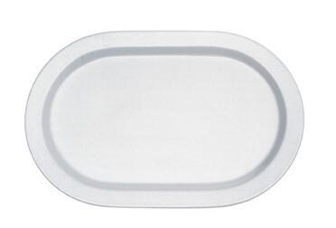 Villeroy & Boch, Easy White - Piatto piano  ovale 37 cm