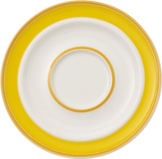 Villeroy & Boch, Neufchâtel care, giallo - Piattino 16 cm