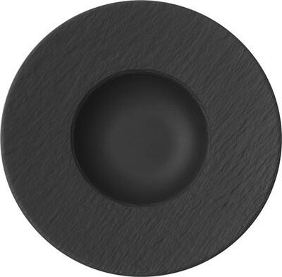 Villeroy & Boch, The Rock Black Shale - Piatto fondo 29 cm