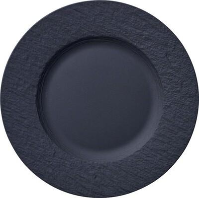 Villeroy & Boch, The Rock Black Shale - Piatto piano 22 cm