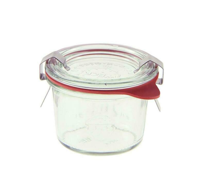 Weck - Vaso con coperchio 8 ml