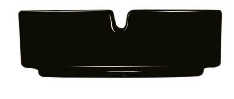Arcoroc - Posacenere 10,5 cm Nero Impilabile