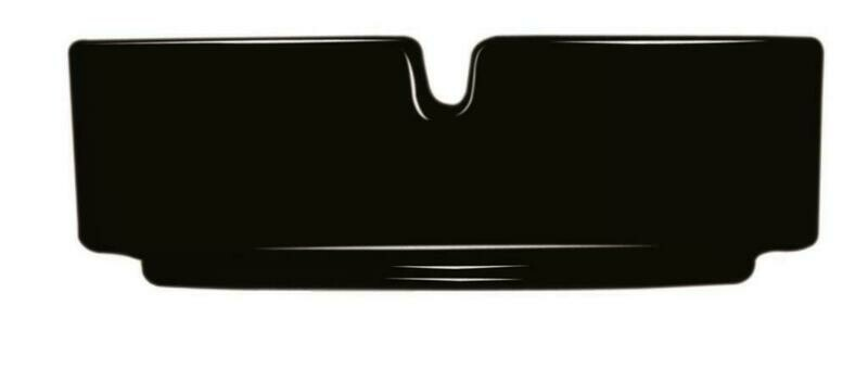 Arcoroc - Posacenere 8,5 cm Nero Impilabile
