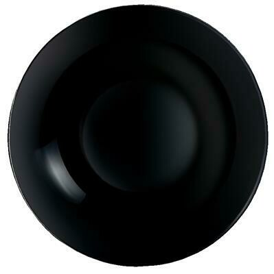 Arcoroc - Piatto Fondo 20 cm Nero Evolutions Black