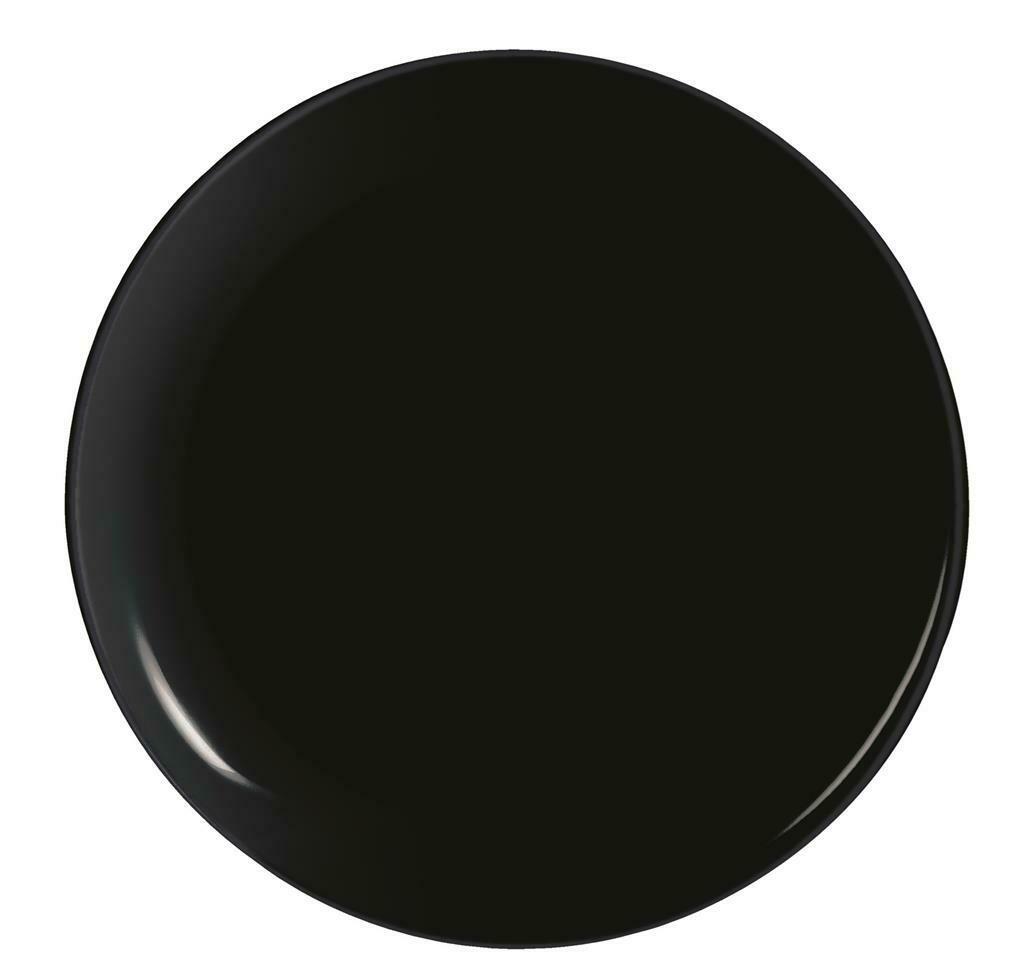 Arcoroc - Piatto Pizza 32 cm Nero Evolutions Black