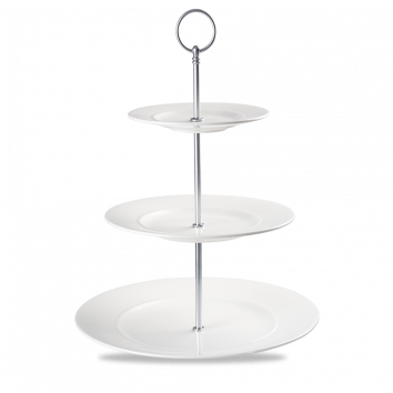 THREE TIER PLATE TOWER