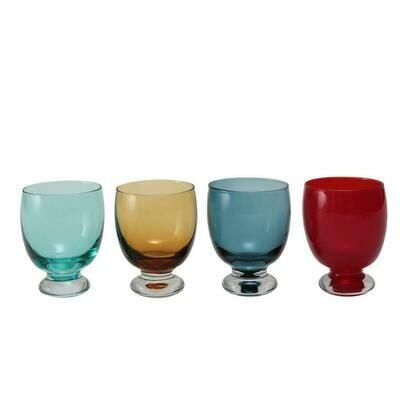 Tirolix - Calici Acqua 32 cl Colori Assortiti Sleek