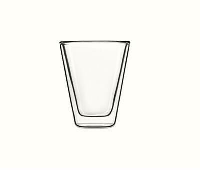 Bormioli Luigi - Bicchiere Duos Caffeino 8,5 cl Thermic Glass