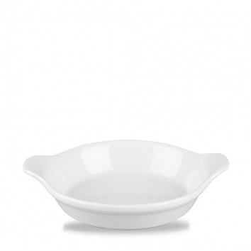 LARGE ROUND EARED DISH