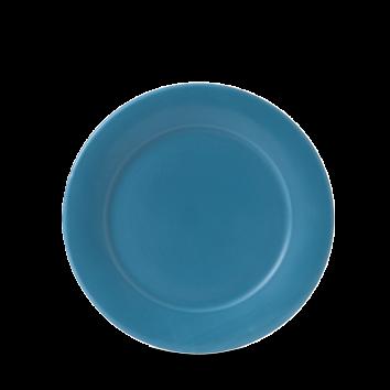 BLUE MID RIM PLATE