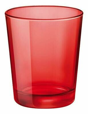 Tirolix - Bicchiere Bibita 50 cl Rosso Circle