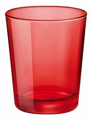 Tirolix - Bicchiere Acqua 30 cl Rosso Circle