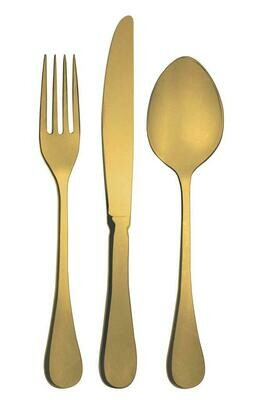 Abert - Forchetta Tavola Vintage Gold Superior