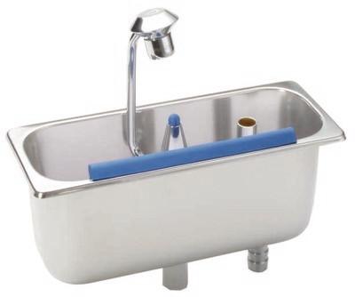 Lavello da incasso con doccia a cucchiaio 54/16 - Stöckel