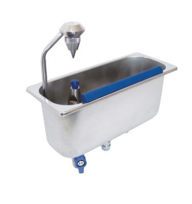 Lavello da incasso con essiccatore di porzioni 54/17 - Stöckel