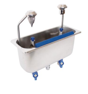 Lavello da incasso con porzionatore e porzionatore 54/16/17 - Stöckel