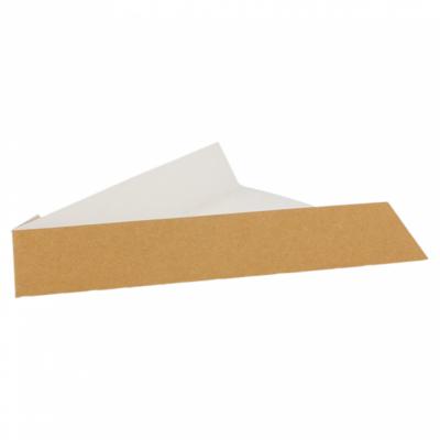VASCHETTE PER PIZZA 300 G/M2 21x16,5x3,5 CM MARRONE CARTONE (1200 UNITÀ)