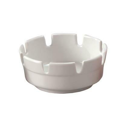 Posacenere 10 cm Bianco Melamina T05 Tirolix